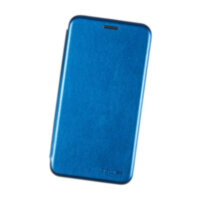 Чехол книжка для Samsung Galaxy A30s (A307) Case Кожаный Синий