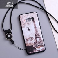 Чехол для Samsung G950 Galaxy S8 Print Paris France