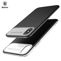Чехол для iPhone X Baseus Slim Lotus