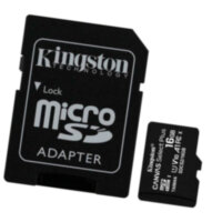 Карта памяти microSDHC 16Gb Kingston Canvas Select Plus A1 (UHS-1) (R-100Mb/s) + адаптер SD
